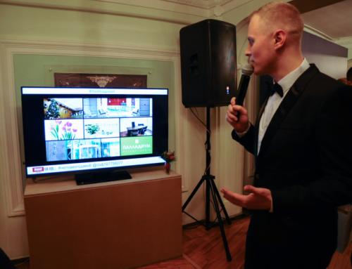 Техническое сопровождение церемонии вручения премии «Человек года — 2015»