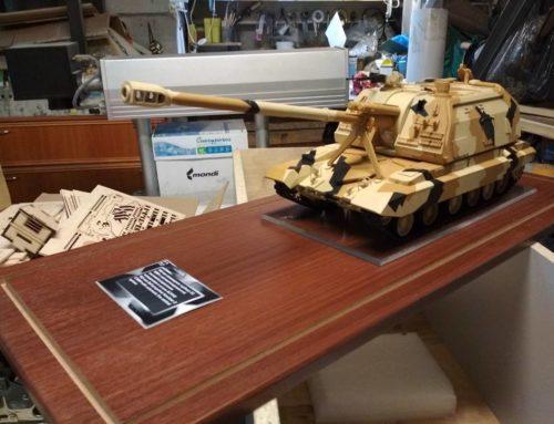 Тираж моделей 152-мм самоходно-артиллерийской установки «2С19М1»