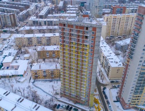 Ролик о строительстве третьей очереди ЖК «Гольфстрим»