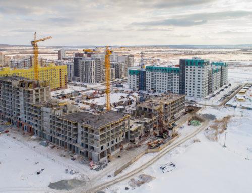 Ролик о строительстве жилого комплекса «Солнечный» в Екатеринбурге