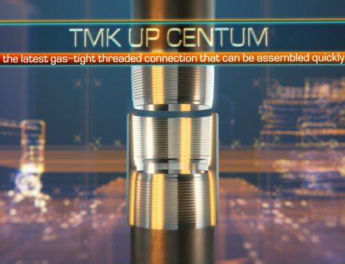 Ролик о премиальном резьбовом соединении TMK UP CENTUM